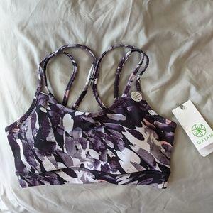 Purple Workout & Yoga Bra Gaiam